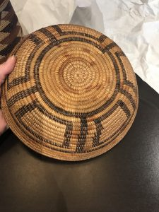 Chumash basket (Payson Special Collections)