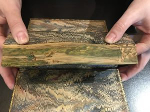 Fore-edge painting (Payson Special Collections)